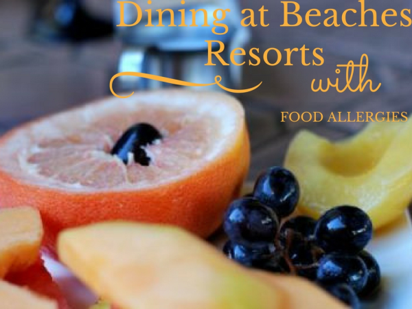 beaches resorts food allergies