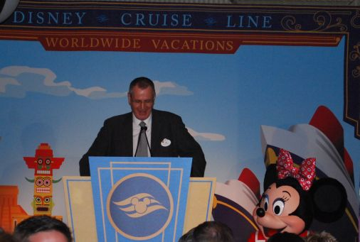 disney cruise line announcement
