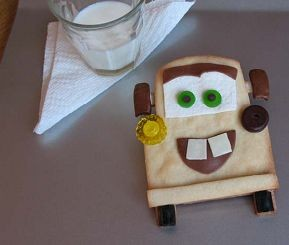 Tow Mater Cookie Treats