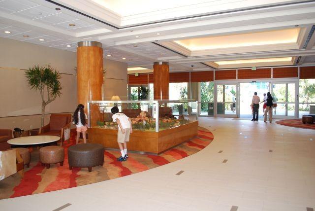 Disneyland Hotel Frontier Tower Lobby