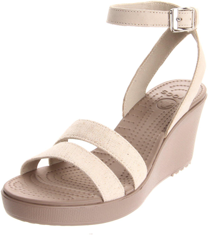 Croc Wedge Sandals