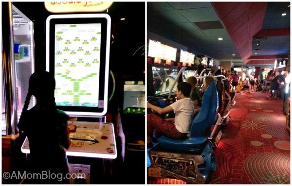 contemporary resort arcade