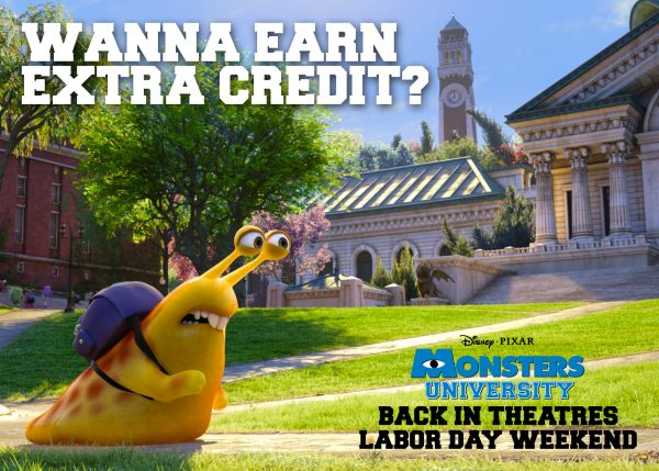 monsters university labor day