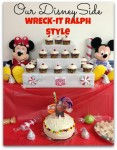 our #disneyside wreck-it ralph