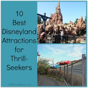 10 best rides for thrill seekers at Disneyland