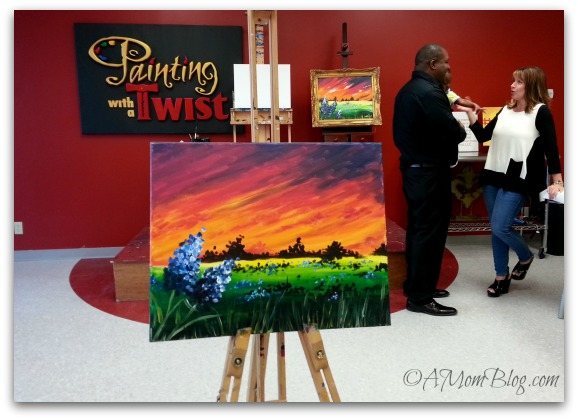 Painting with a twist party pwatparty a mom blog for Painting with a twist locations near me