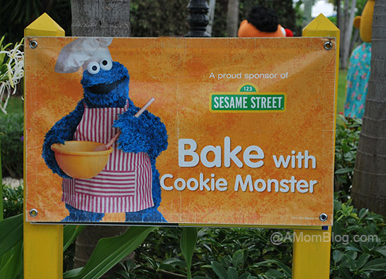 bake with cookie monster