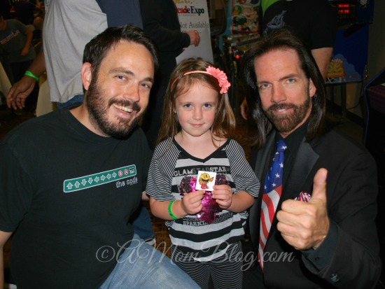 billy mitchell and fan