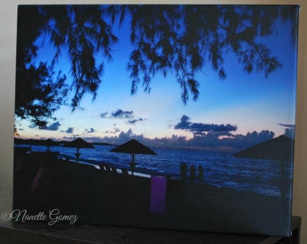 HP Canvas wrap beachesmoms