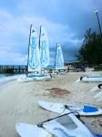 sailing at beaches