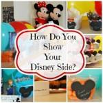 how do you show your disney side