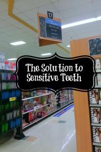 sensitive teeth solution
