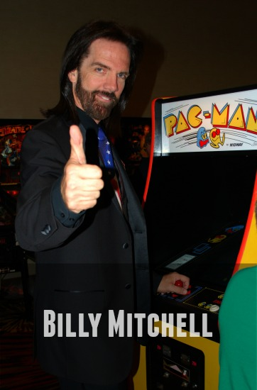 Billy Mitchell Pac-Man
