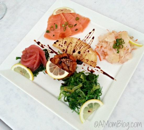 appetizer at soy sushi bar