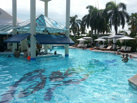 1 of the many pools at beaches resorts