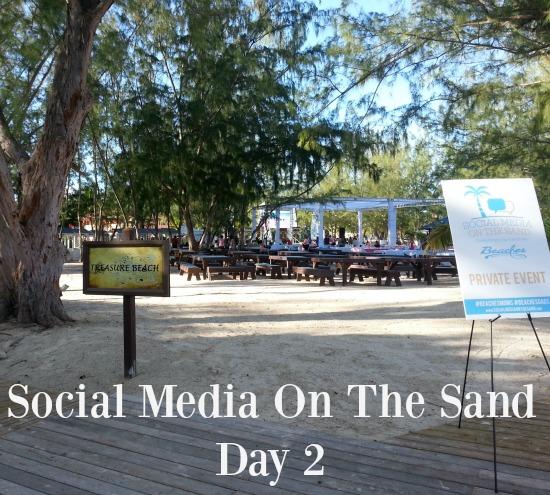 social media on the sand day 2