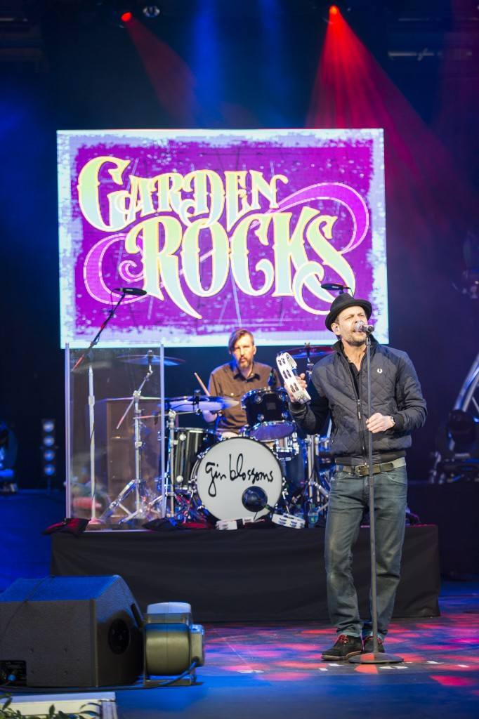 ©Disney Gin Blossoms (ÒHey JealousyÓ) performs May 6-8, 2016 at America Gardens Theatre during the 23rd Epcot International Flower & Garden Festival ÒGarden RocksÓ Concert Series. Thirteen pop bands with hits spanning several decades are featured throughout the 90-day festival with Friday, Saturday and Sunday performances included in Epcot admission. Epcot is located at Walt Disney World Resort in Lake Buena Vista, Fla. (Ryan Wendler, photographer)
