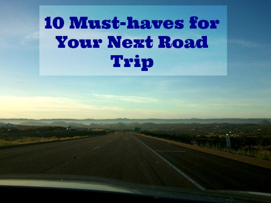 10 must haves for road trips