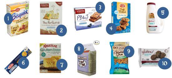5.12 Amazon Round Up Gluten Free Items and Walmart Comparisons 1-10