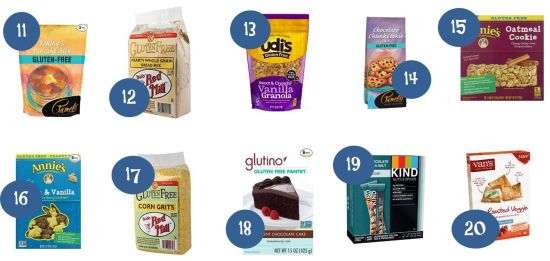 5.12 Amazon Round Up Gluten Free Items and Walmart Comparisons 11-20