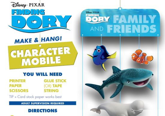 finding dory mobile image