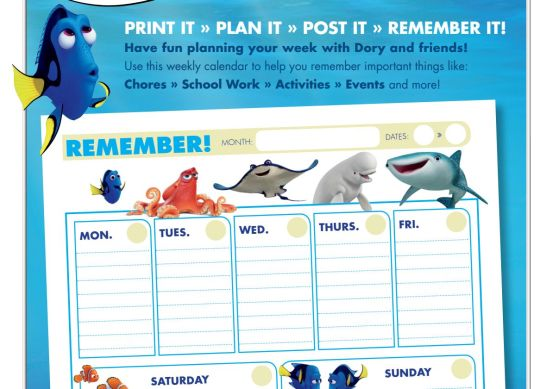 finding dory planner image