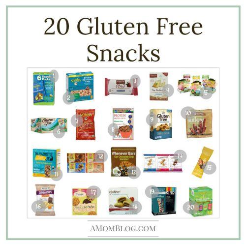 20 gluten free snacks