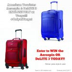 American Tourister Aerospin OR DeLITE 3 Giveaway