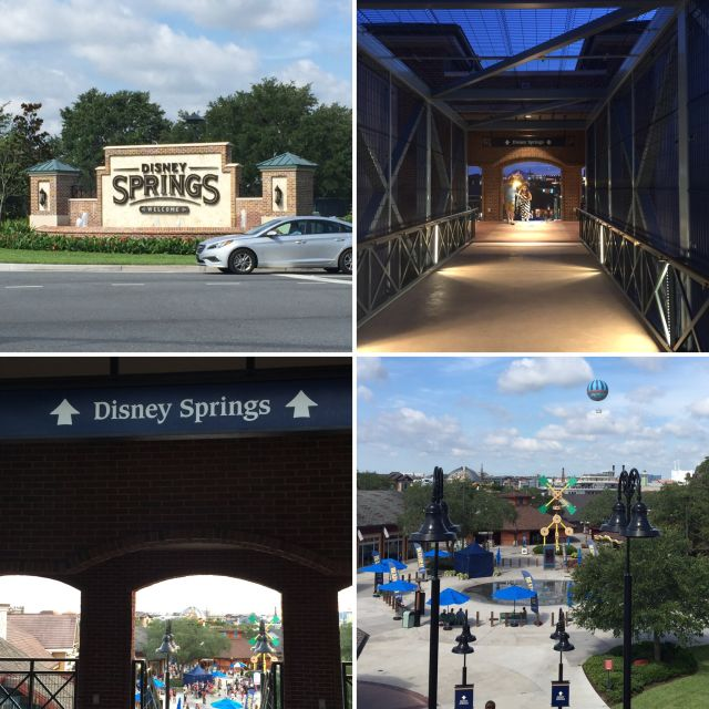 from wyndham to disney springs