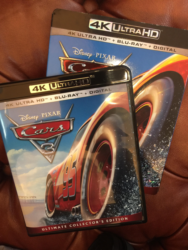 CARS 3 now available