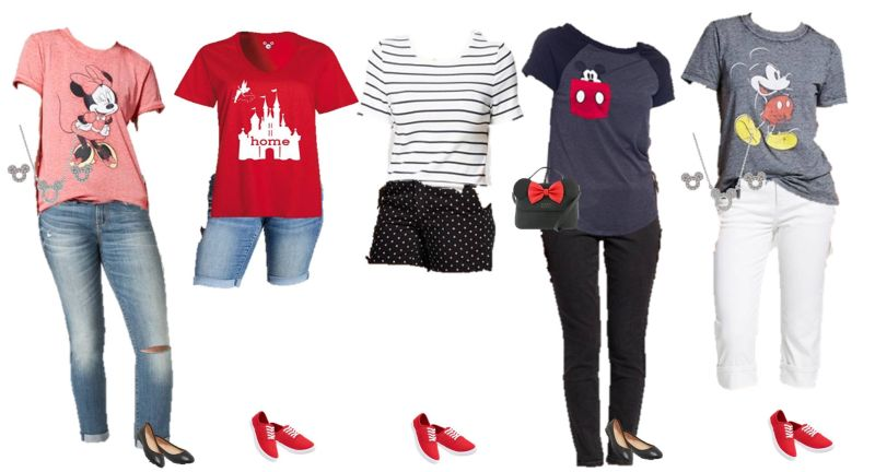 disney theme fashions for women