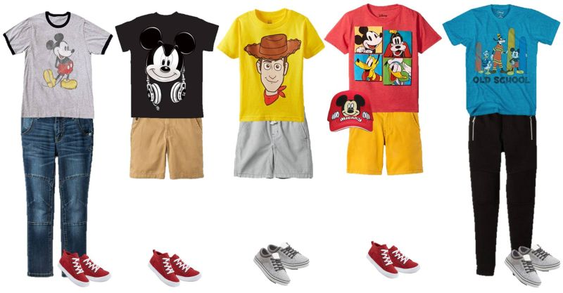 Mix & Match Boy's Disney Styles