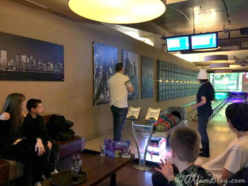 bowling at intu Trafford Centre